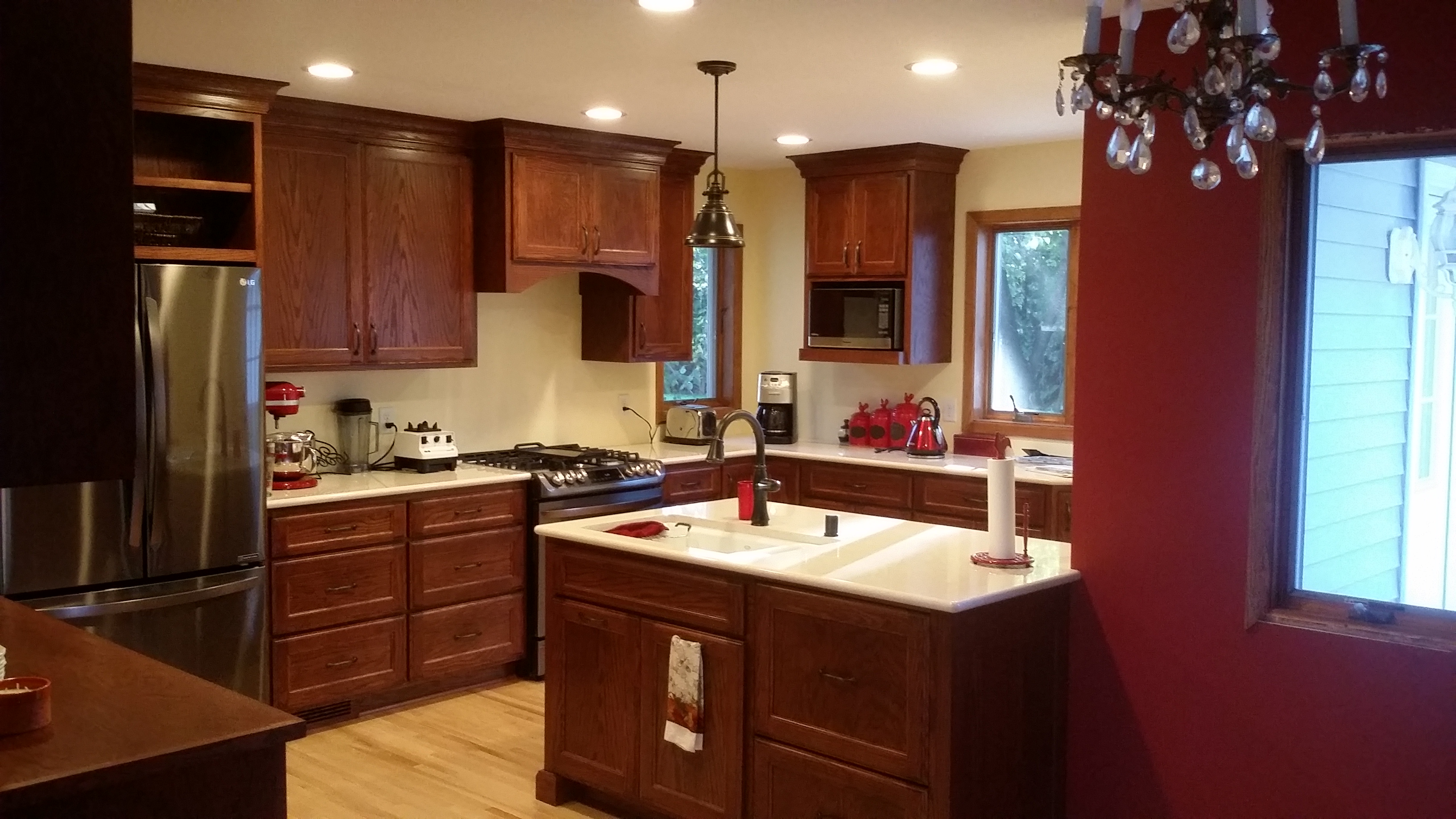 Scott Rajavuori And Titus Contracting Finish Kitchen Addition And - Bathroom remodel plymouth mn